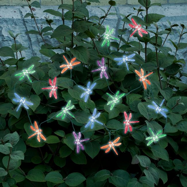 decorative solar powered string lights 20 count